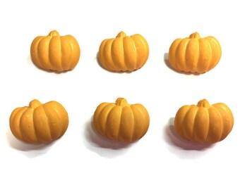 Pumpkin Buttons Galore Shank Flat Choice Matte Finish - 1337 D