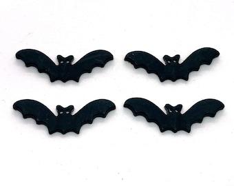 Halloween Bats Buttons Galore Two Hole Sew Thru Flat Back - 1337 A