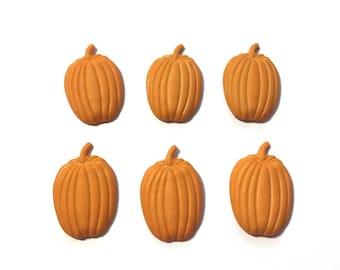 Pumpkin Patch Buttons Galore Collection Shank Flat Back Choice - 1337 A