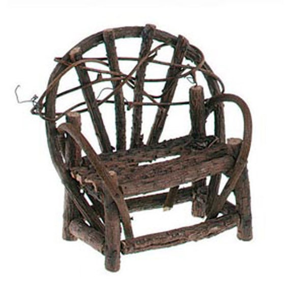 Awesome Miniatures Twig Garden Bench Fairy Garden Furniture Grapevine Wood Primitive Rustic Dollhouse Terrarium Planter Craft Supply Fg2 Gmtry Best Dining Table And Chair Ideas Images Gmtryco
