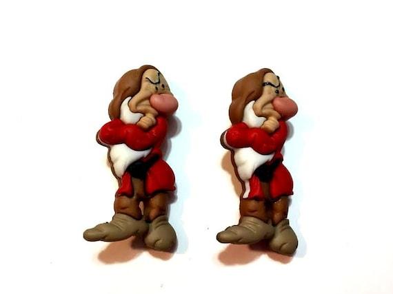 Dress It Up Licensed Embellishments-Disney Snow White Grumpy