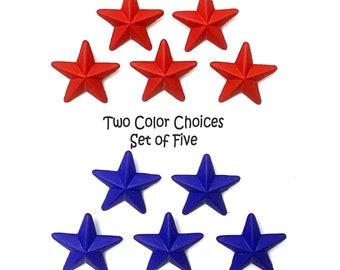 Star Buttons Shank Flat Back Color Choice Baseball Jesse James Dress It Up Buttons Sports - 886