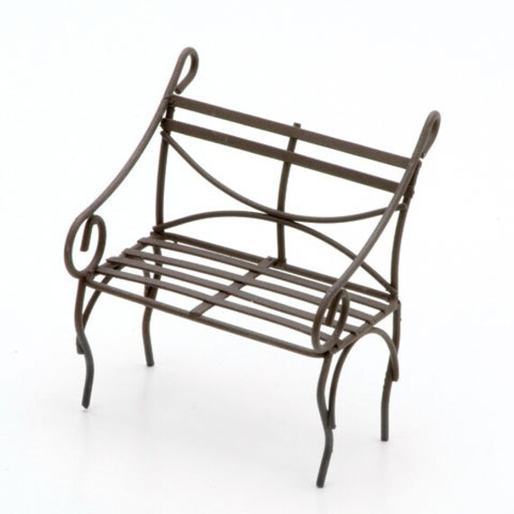 Outstanding Miniature Wire Bench Rusty Metal Fairy Garden Furniture Primitive Decor Terrarium Planter Craft Supply By Embellishment Buttons Fg14 Andrewgaddart Wooden Chair Designs For Living Room Andrewgaddartcom