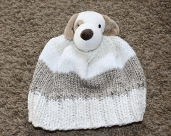 Kid's puppy hat