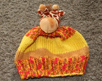 Kid's giraffe hat