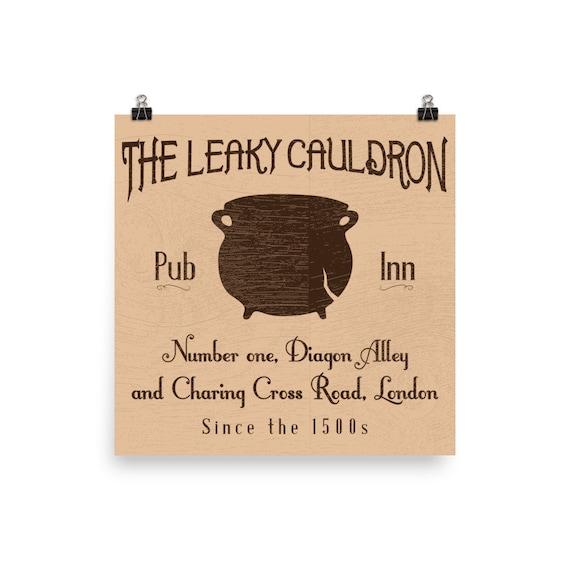 The Leaky Bar Inn Diagon Alley London T Shirt