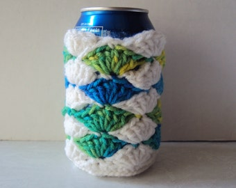 Can Cooler - Crochet Can Cooler - Beer Holder - Crochet Beer Holder - Pop Sleeve - Soda Sleeve - Drink Holder