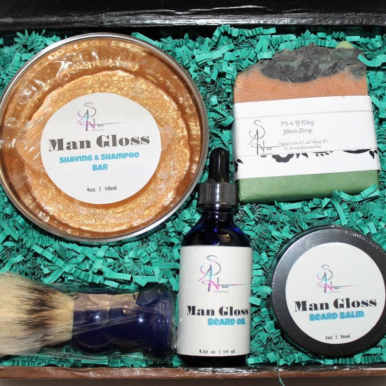 Complete Men's Grooming Kit Beard Care Groom Kit Men image 0