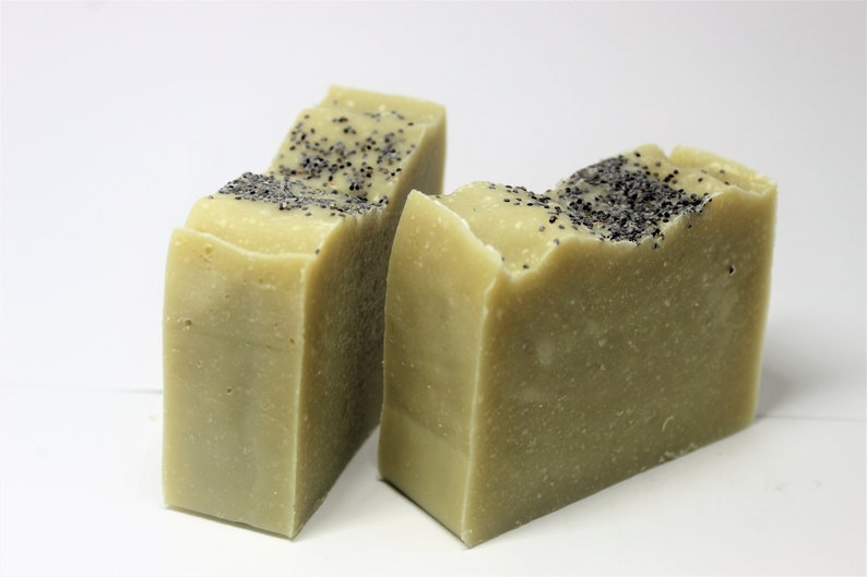 Bare Unscented Bar Soap Cold Process Body Soap Lard Soap image 0