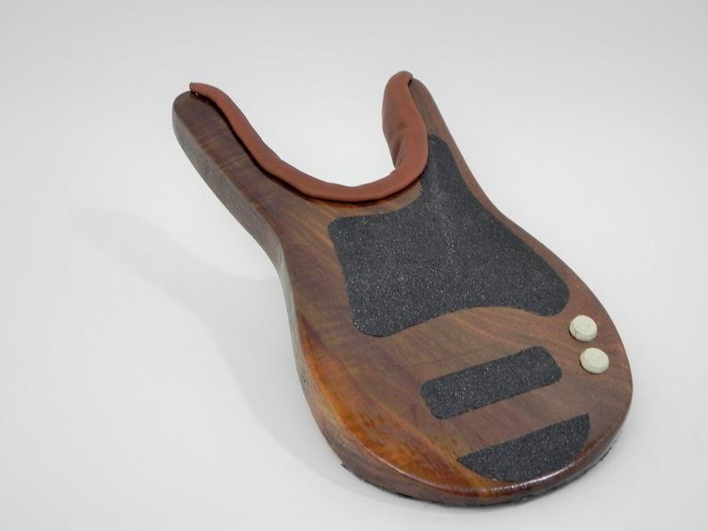 OOAK Hand Made Solid Walnut Guitar Shaped Boot Jack