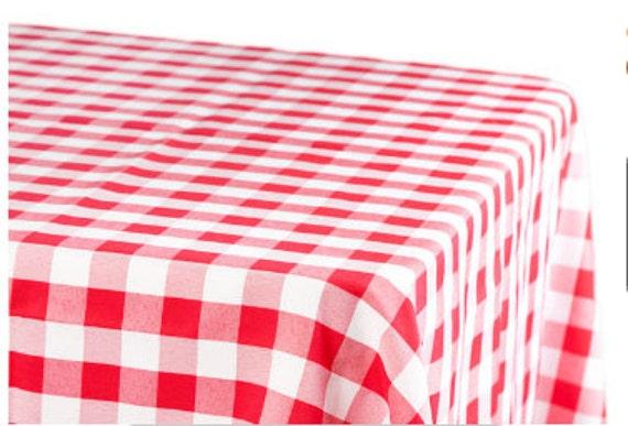 Checkered Table Cloth Checkered Tablecloth Outdoor Wedding Etsy