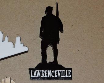 Lawrenceville Doughboy Magnet