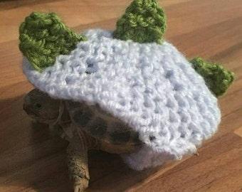 Dinosaur tortoise cosy, pet photo prop, pet costume, tortoise costume, easter outfit, fancy dress, halloween costume, Dinosaur costume