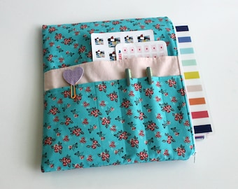 Zipper Planner Pouch, Planner Accessory, for use with Happy Planner Cover, Erin Condren™, Passion Planner, Plum Paper Planner, Planner Bag