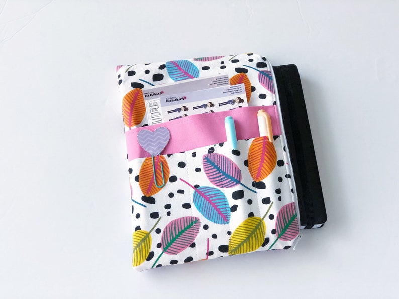 fits Happy Planner Planner Pouch Planner Accessory Planner Bag and More Planner Gift Emily Ley Planner Erin Condren Planner