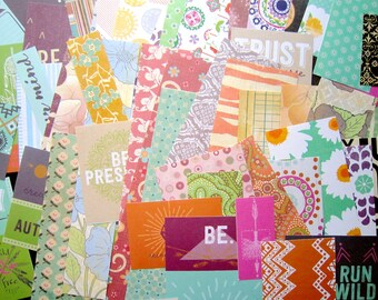 Paper scrap pack   Etsy