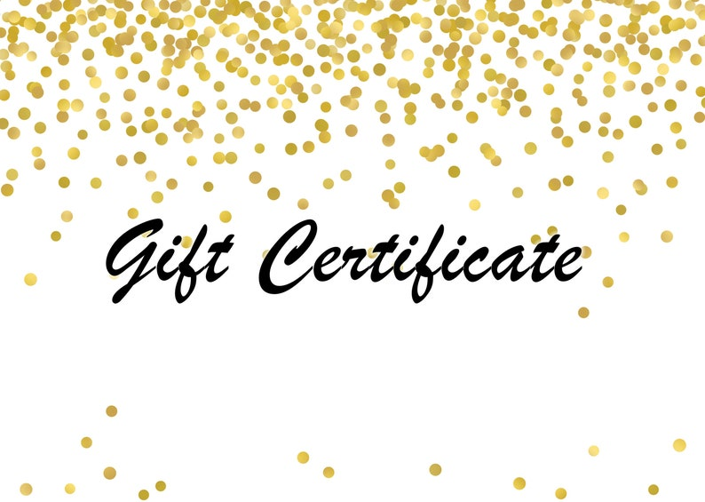 Christmas Gift Certificate Ideas.Gift Certificate Gift Card Christmas Gift Teacher Gift Colleague Gift Gift For Her Gift For Him Gift Ideas