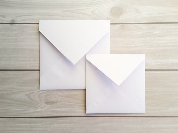 Square Coloured Envelopes For Greeting Cards Party Invitations Crafts 5x5 /& 6x6