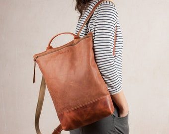 brown leather backpack, leather backpack purse, women leather backpack, leather backpack women, leather backpack, laptop leather backpack
