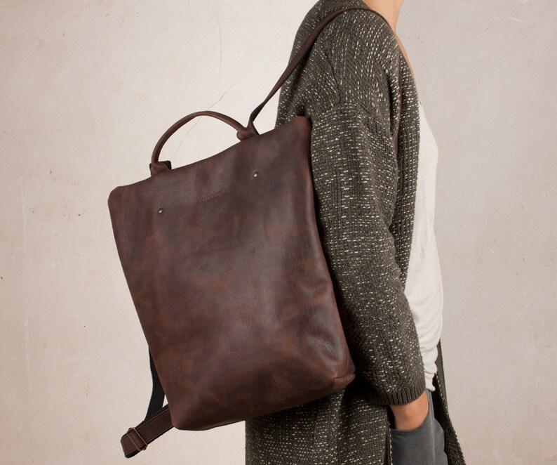 77929cf433 Zaino pelle donna zaino pelle vintage borsa di cuoio zaino   Etsy