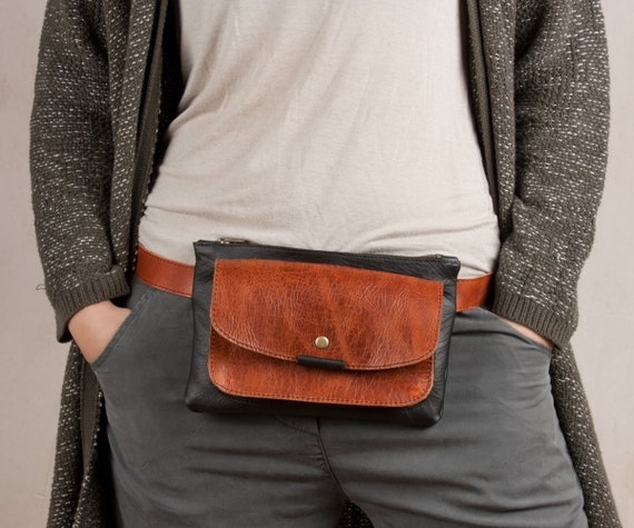 d12713ca83f5 leather fanny pack leather waist bag leather bum bag women