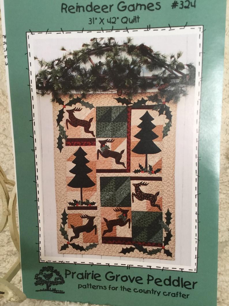 Reindeer Games Prairie Grove Peddler Quilt Pattern