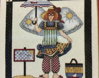 Janlynn Summer Angel Counted Cross Stitch Kit