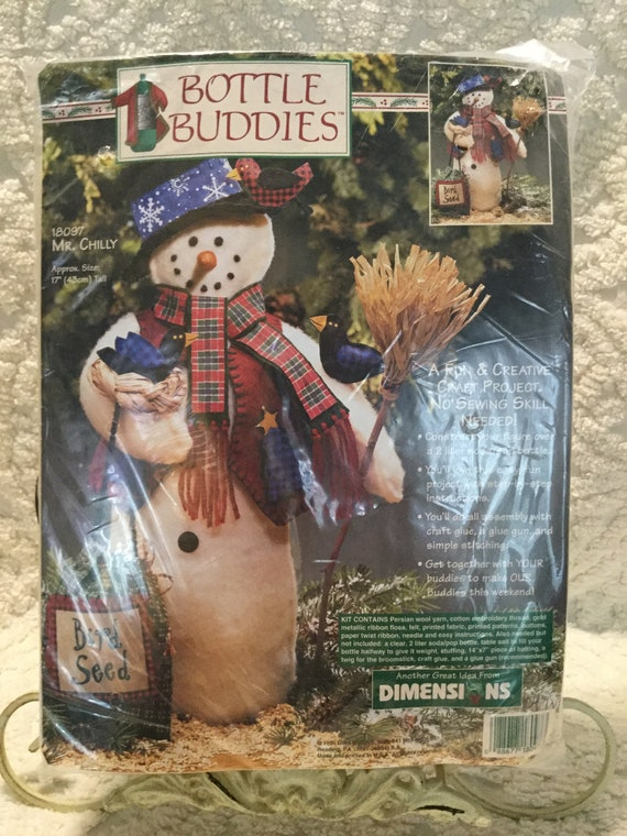 Dimensions Bottle Buddies Kit Chilly Mr