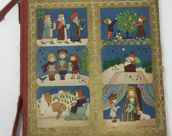vintage merry christmas beautifully illustrated by natasha simkbovitch collection of famous christmas stories