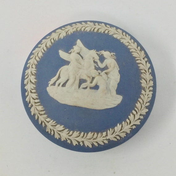Ring Box Vintage Wedgwood Trinket Box Excellent Condition