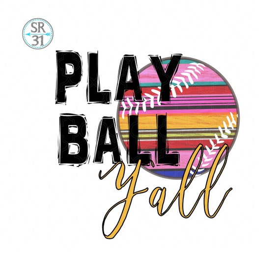 Download Free Baseball Design Softball Sublimation Design Let S Play Etsy PSD Mockup Template