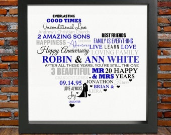 20th Anniversary gifts - 20th anniversary, 20th wedding anniversary gifts, 20th anniversary gift ideas, 20th wedding anniversary