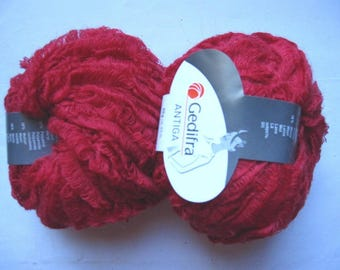 6 balls Red Raspberry Antiga 3101 Gedifra wool and Mohair