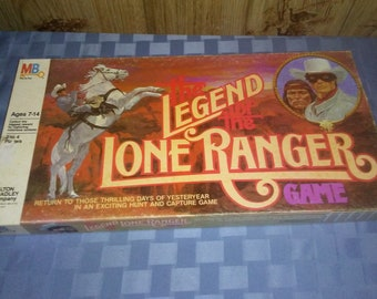 Lone Ranger board game 1980