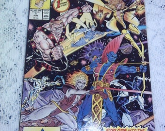 1# Guardians of the Galaxy 1990 real nice copy (VF)