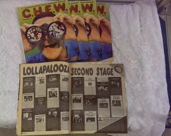 Lollapalooza 1995 concert program guide