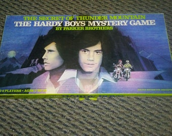 The Hardy Boys Mystery Game 1978