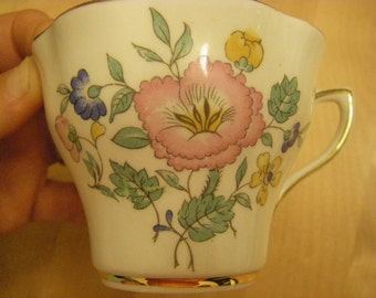 Clare Bone China Cup (No Saucer), Made in England