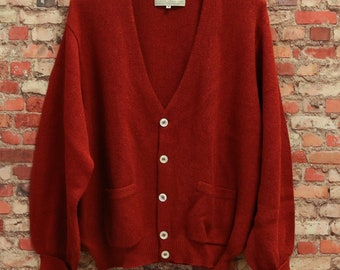 DELUXSEY Wool Blend Open Cardigan Sweaters for Women Womens Knit Cardigan Warm