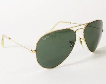 1b1545039a Authentic B L Ray Ban Aviator Sunglasses - Small