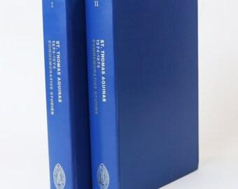 St. Thomas Aquinas 1274-1974 Commemorative Studies Vol 1 & II, HC Books, 1974