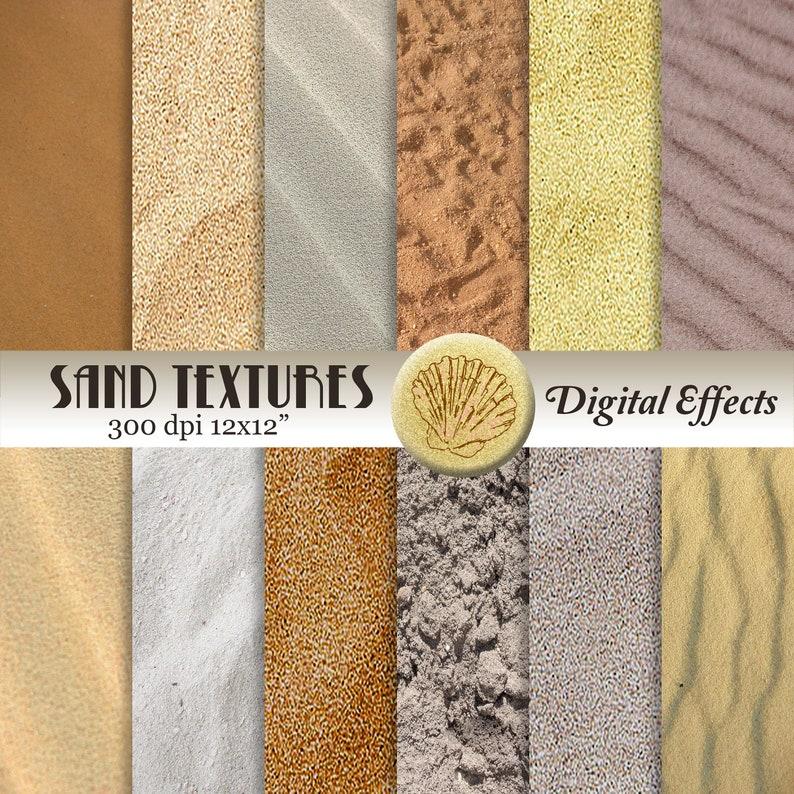 Sable Texture Papier Numérique 12 X 12 Papier Scrapbook Etsy