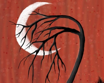Crescent Moon Tree