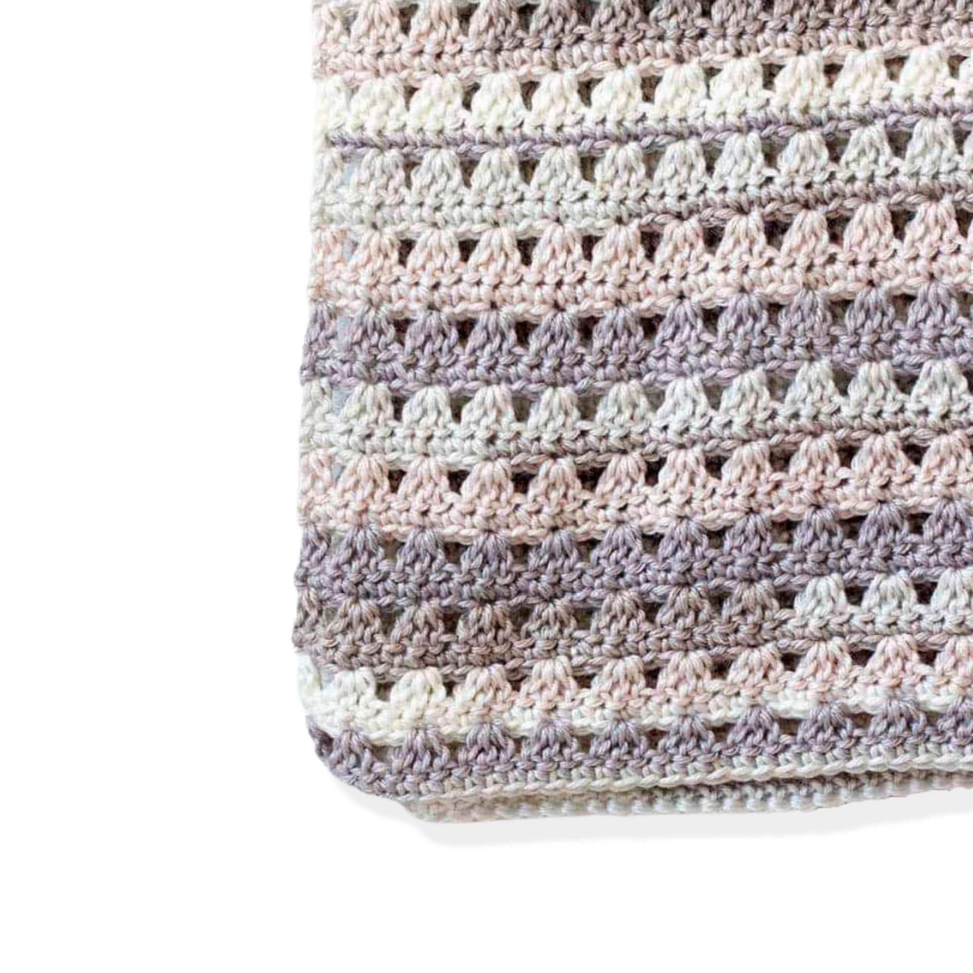 Blanket in Eight Sizes + Quick Crochet Blanket Pattern + Alissa Throw