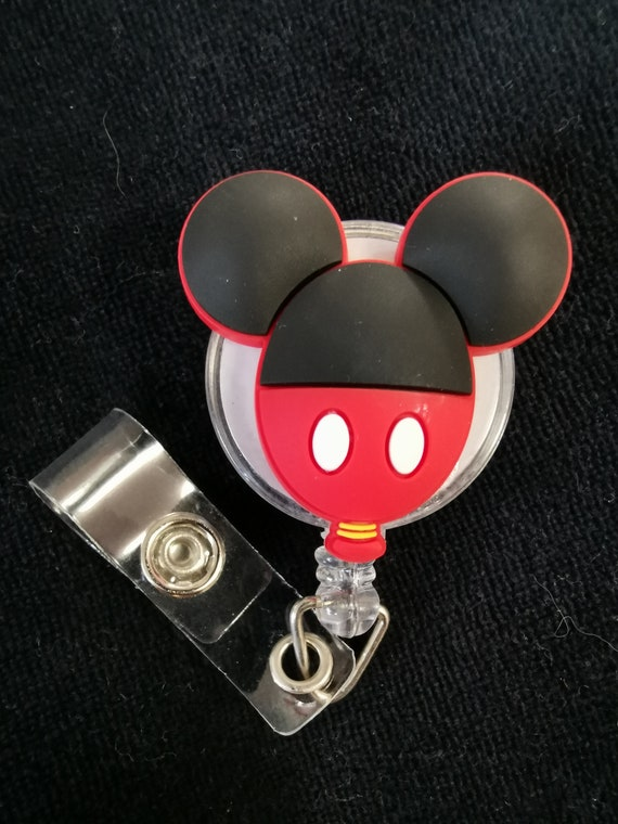 Nurse Badge Reel Badge Holder RN Badge Reel Mouse Badge Reel Medical Badge Reel Pumpkin Mouse Badge Reel Medical Badge Reel
