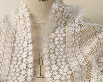 Ivory French Lace Shrug