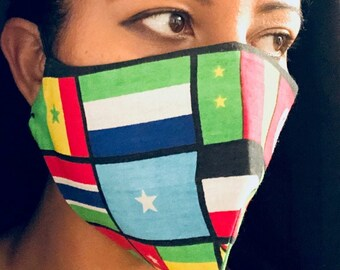 Face Masks African Flags