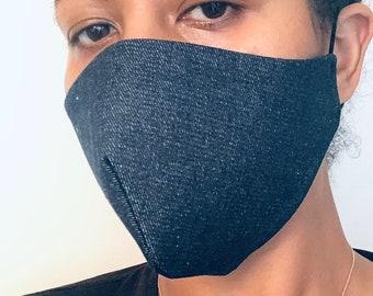 Denim Face Masks