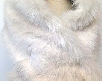 Ivory Fur Stole