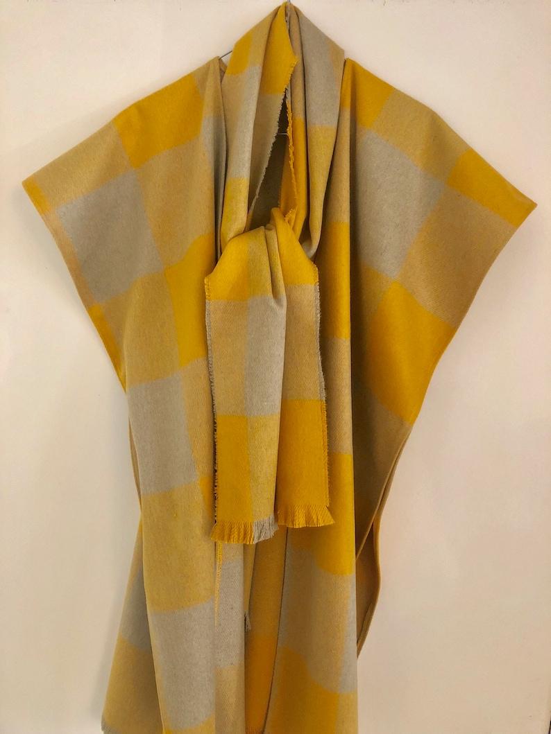 dcec6e273d95a1 Kaschmir-Schal gelb Mens Schal Unisex weichen grauen | Etsy